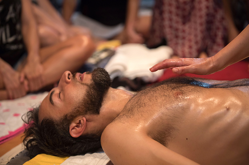 tantra lingam massage release blockages