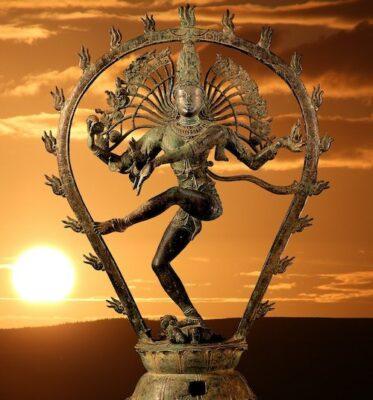 Tantra - A statue of Nataraja, the dancing Shiva.