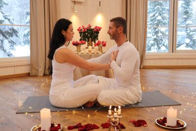 tantric sex couple's meditation