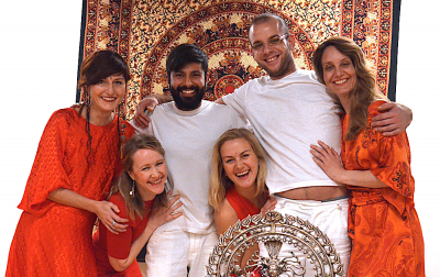 Tantra Massage Therapist Training - blissful happy students after the tantric ritual