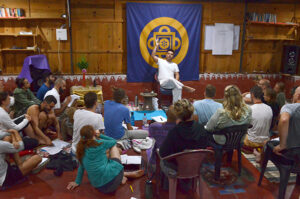 art of dying Dharmananda lecturing about death and dying