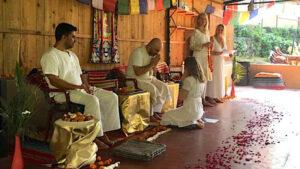 tantra - Jana receiving an initiation from her teacher