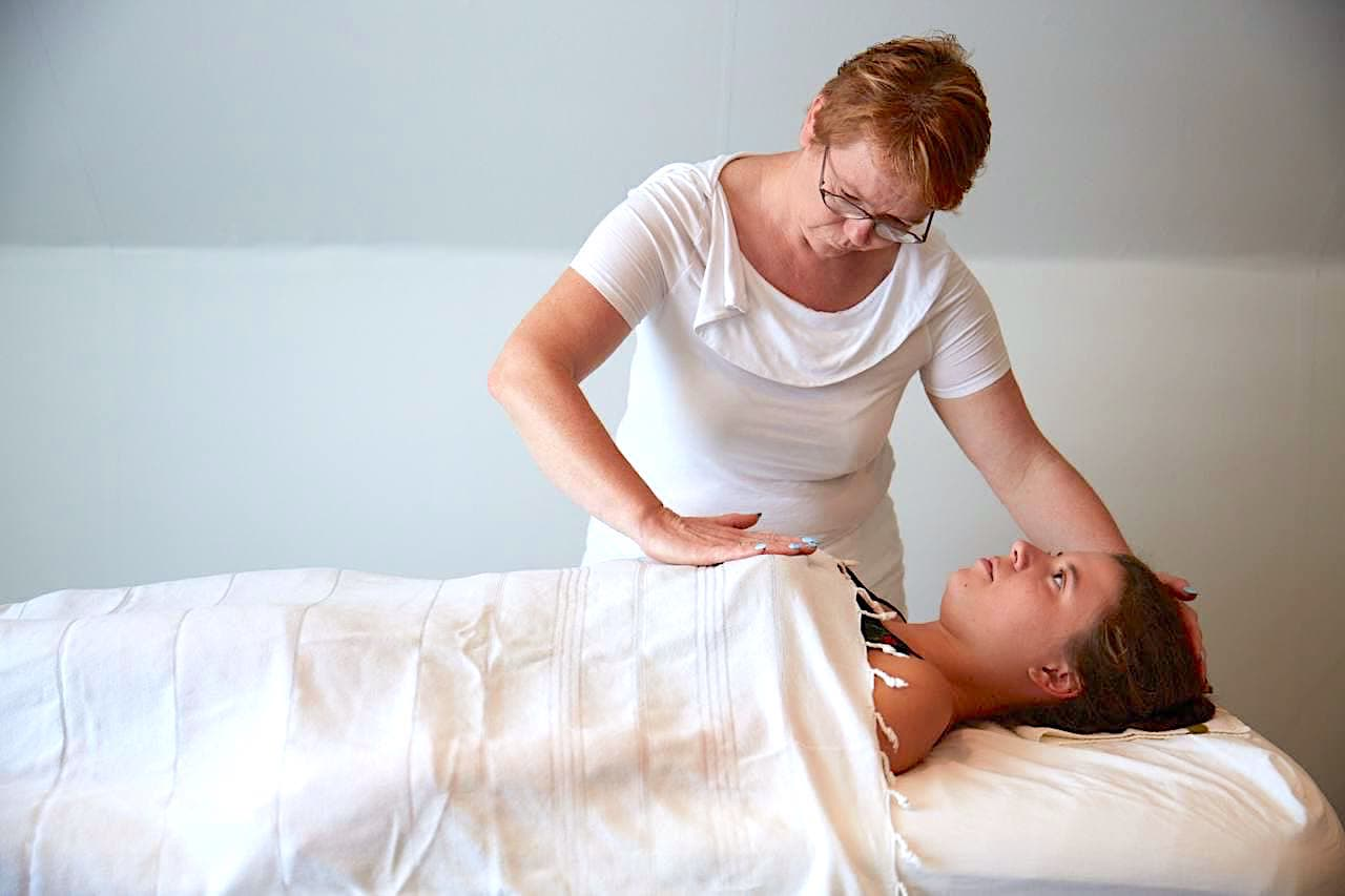 Tantra Massage - in the Tantra Massage Therapist Training there are daily practice sessions